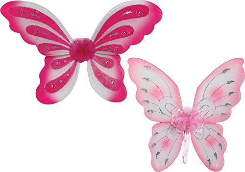 Legler 5197 - Elfenflügel, 2-er Set, rosa (Der Joker Kostüm Für Kleinkinder)