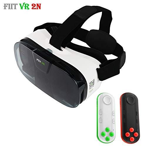 Original Fiit 2N 3D-Brille VR Virtual Reality Box Headset 120 FOV Video Google Glas Karton Helm Für...
