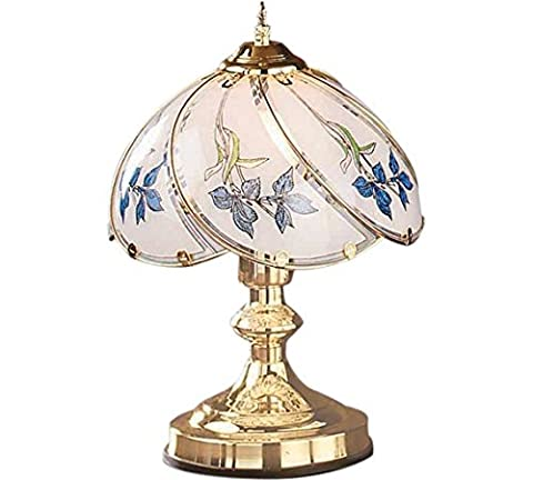 Stunning HOME Iris Touch Modern Brass Table Lamp