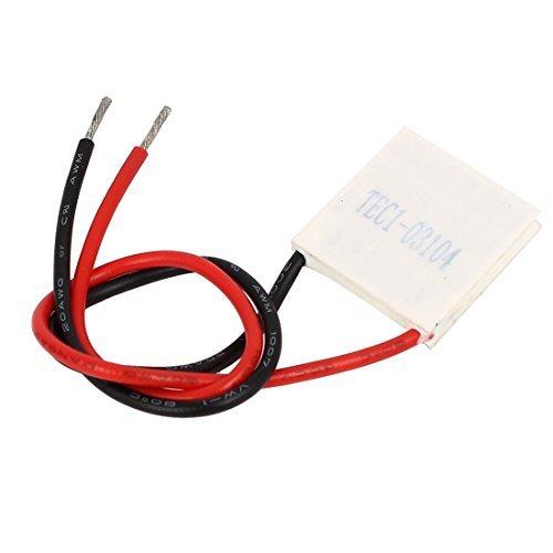 DealMux TEC1-03104 3.66V 4A Thermoelektrische Kühlbox Modul-Kühl Peltier-Platte