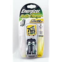 ENERGIZER AUDIO BATTERY CHARGER 2XAAA 850 MAH 7 HOURS IN MP3 - 1 PACK