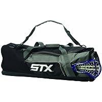 STX Lacrosse Challenger Lacrosse - Bolsa para equipo, color negro, tamaño 91.44 cm