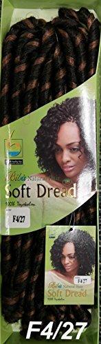 Biba-soft dred braid-natural hair- crochet hair braid-[2packs deal] (f4/27) by biba