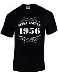 T-Shirt Anniversaire Homme 60 Ans Millésime 1956