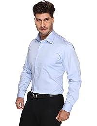 Blacksmith Solid White Supreme Giza Cotton Formal Shirt