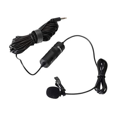 Boya BY-M1 - Micrófono Lavalier Omini Direccional, Negro