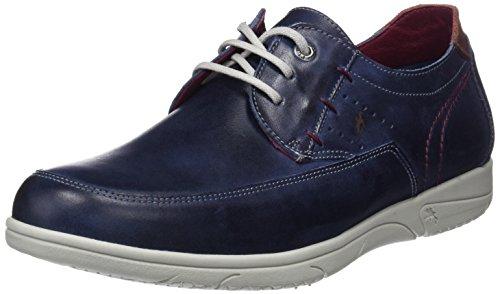 Fluchos Sumatra, Zapatos Cordones Derby Hombre, Azul