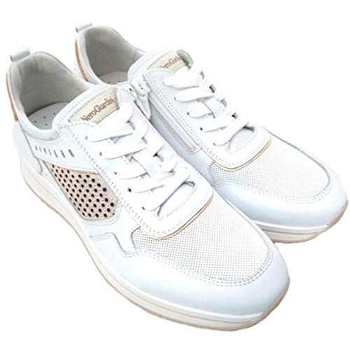 Nero giardini sneakers donna 907542 bianco (36 eu)