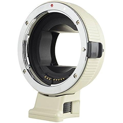 Commlite Auto Focus EF-NEX EF-EMOUNT FX Lens Mount Adapter for Canon EF EF-S Lens to Sony E Mount NEX 3/3N/5N/5R/7/A7 A7R Full Frame, Color