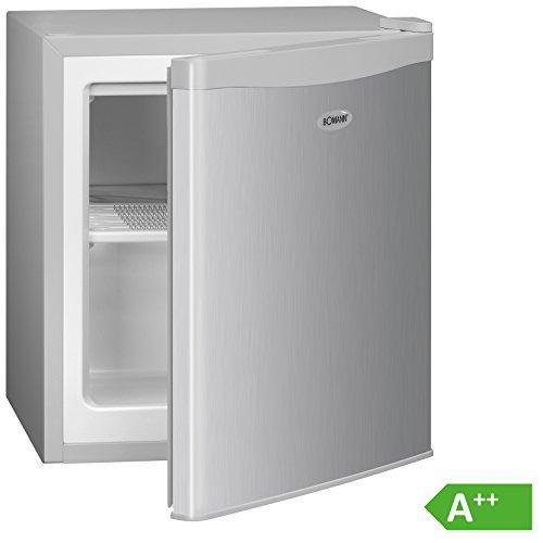 Bomann GB 388 Gefrierbox/A++/51 cm Höhe/117 kWh/Jahr/30 Liter Gefrierteil/Kühlmittel R600a/silber