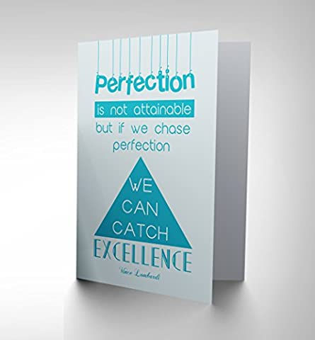 perfection chase catch excellence lombardi-02 ART GREETINGS GREETING CARD CP1734