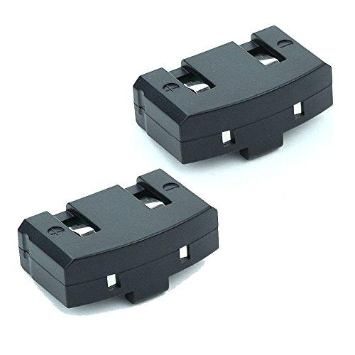 2x subtel® Batterie pour Sennheiser Audioport A200 Set 50 TV Set 810 Set 820 RI 50 IS 380 RS 2400 Set 55 TV HDI 380 HDR 65 RI 300 RR 820 HDR 40 HDR 45 RR 2400 RI 810 RR 55 RS 45 HDR 88 (60mAh) - batterie de rechange Sennheiser BA 150, BA 151, BA 152, accu remplacement, BA150 BA151 BA152