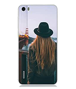 Snapdilla Designer Back Case Cover for Huawei Honor 6 (Sunset Lights Travel Cool Sky Outdoors Wallpaper)