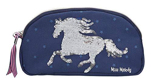 Depesche 10276 - Kosmetiktasche Miss Melody, blau