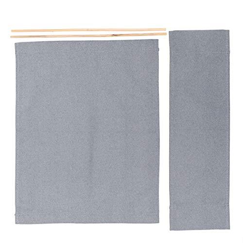 FreeLeben 1 Paio di Coprisedili Bianco Casuale Kit di Copertura per Sedie per Registi Telo Coprisedile Sostitutivo Sgabello Protector 2 Size