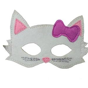 Máscara infantil de gatita
