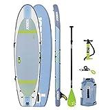 Jobe 2018 Aero Lena Yoga Inflatable Stand Up Paddle Board 10'6 x 33 INC Paddle,...