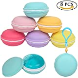 Fancyku 8 Pcs Crystal Slime Putty Macaroon Kit Jelly Diy Toy Mud Clay Soft Squishies Pudding Toy for Kids Education Gift