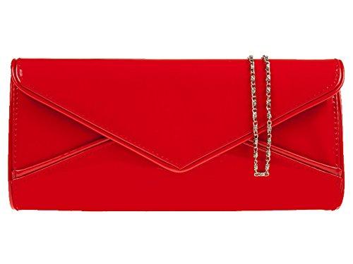 fi9®, Poschette giorno donna Rosso (rosso)