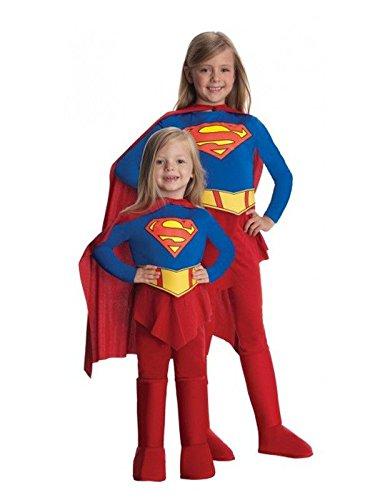 Imagen de disfraz supergirl niña  único, 3 a 5 años