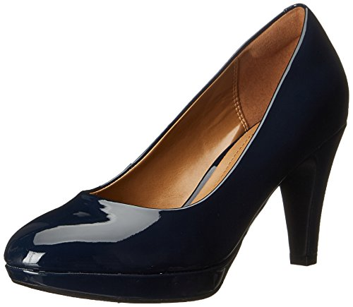 Clarks Brier Dolly Kleid Pump Navy