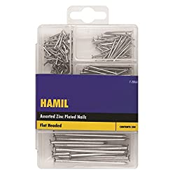 Stalwart F-20563 Assorted Nails (Pack of 250)