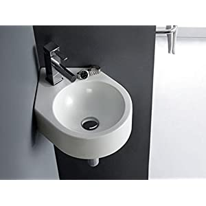 Bathco – Lavabo Bathco Pequeño Bristol Esquinero 440X310X120