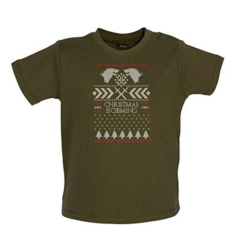 GOT Jumper - Baby T-Shirt - Grün Camouflage - 3 bis 6 Monate