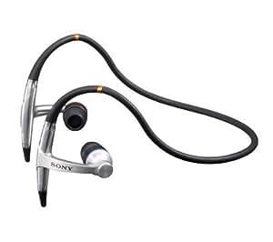 SONY Ecouteurs Sport MDR-AS50G + Rallonge pour casque jack 3.5 mm - 3 m .
