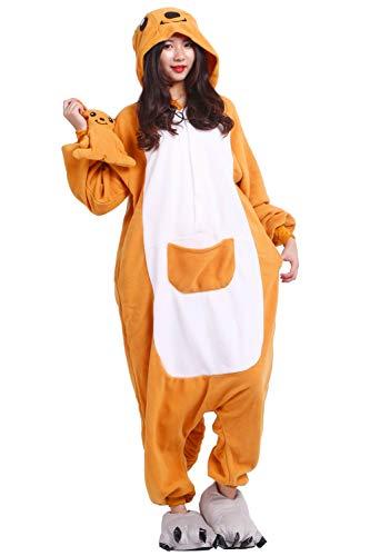 Akaayuko kigurumi pigiama anime cosplay costume per adulti canguro