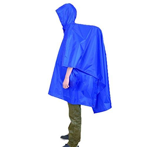 WinCret Multifunktionale Wasserdichte Regenjacke - Regenmantel \ Rucksack Abdeckung \ Floored Matten für Outdoor-Aktivitäten