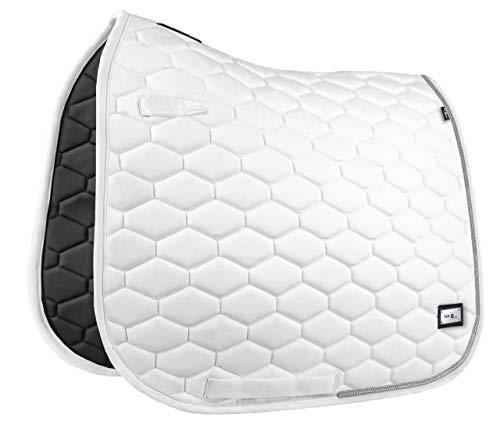 Interapi Fairplay Dressurschabracke Hexagon Crystal, versch. Farben, Farbe:weiß