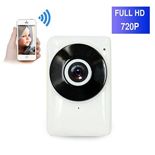 ShengyaoHul Alarme Caméra De Surveillance Wifi, 720P HD Indoor Système De Sécurité Ip Home Camera, Suivi De Came Haut-Parleur Intégré / Détection De Mouvement