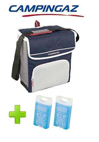 ALTIGASI Kühltasche FOLD\'N Cool CAMPINGAZ 20 Liter CAMPINGAZ mit verstellbarem Schultergurt und Fronttasche - Leistung: bis zu 12 + 2 Stück FREEZ Pack M10