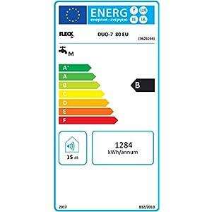 Fleck 3626163 Termo Eléctrico DUO 7, 80 L, 230 V, Fabricado para ser instalado en España