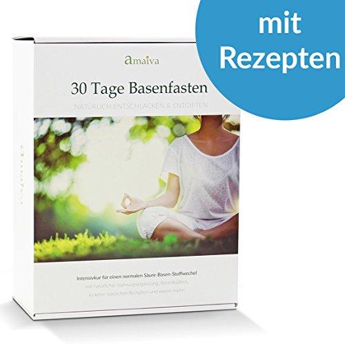 30-Tage Basenfasten - Das komplette Set für eine erfolgreiche Säure-Basen-Kur (inkl. Begleitheft, basischen Rezepten, Basenpulver, Basentee, Basenbad und probiotischer Darmsanierung)