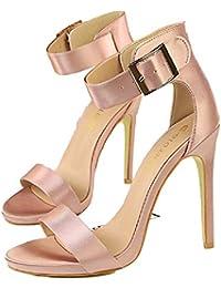 Scarpe it Scarpe da Rosa ballo Amazon col tacco da scarpe HgxqHw84f