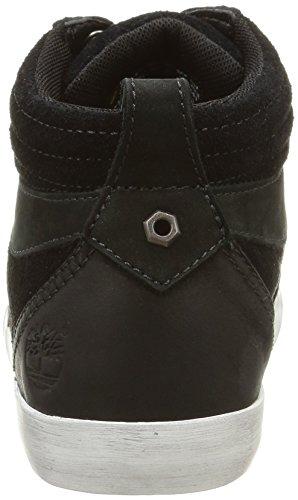Timberland Glstnbry Snkrchk, Damen Hohe Sneakers Schwarz (Black)