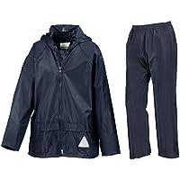 Resultado impermeable chaqueta para niños/traje de para pantalones en la bolsa