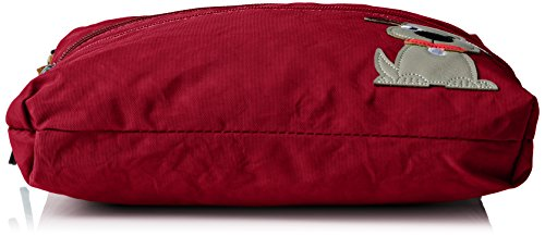 SwankySwans - Jake, Borsa a tracolla Donna Rosso (Red (Marsala))