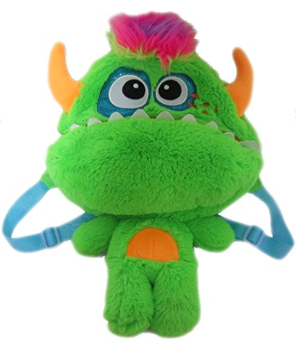 Kopf Monster Cookie Kostüm - Monster Kinderrucksack Kinder Rucksack Tasche Kindergartentasche Kindergarten Jungen Mädchen Plüsch bunt 9028