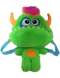 Monster Kinderrucksack Kinder Rucksack Tasche Kindergartentasche Kindergarten Jungen Mädchen Plüsch bunt 9028 preisvergleich bei kinderzimmerdekopreise.eu