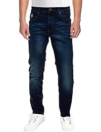 Raa Jeans Men's Slim Fit Jeans Raa028 Denim Blue