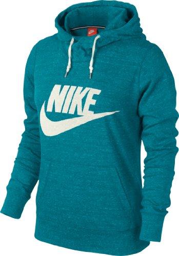 Nike NSW Gym Vintage Pull à capuche avec logo pour femme Turquoise - Turquoise 335