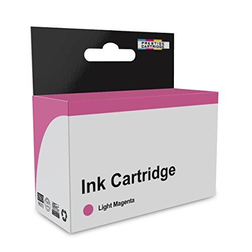 Prestige Cartridge HP363 Una Cartuccia di Inchiostro non Originale per Stampanti HP Photosmart, Magenta Chiaro