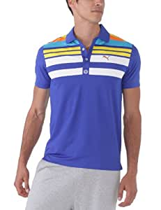 Puma Engineered Stripe Polo Technique manches courtes homme Surf The Web S
