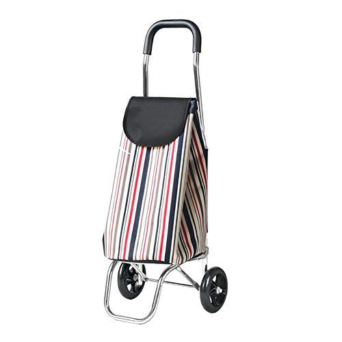 Party Girls S ZGL Einkaufswagen, Aluminiumlegierung, Faltbare Zugstange, für Auto, Anhänger, Senioren, Einkaufswagen, tragbare Zugstange, Auto (Farbe: Style-2) Style-2 (86 Zugstange)