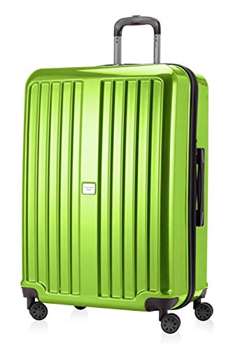 Hauptstadtkoffer X-Berg Maleta Rígida, Tamaño 75 cm, 119 litros, TSA, Color Verde Bosque Brillante