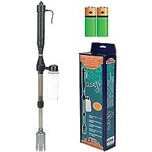 Aspirador automático Blu Bios Cleany Ok - Para acuarios de agua dulce o salada, tortugueras y terrarios, con pilas incluidas