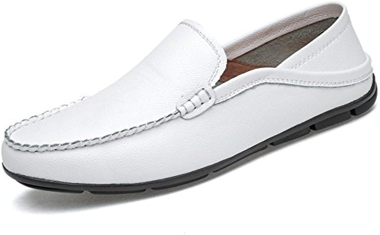Shufang-shoes, Zapatos Mocasines para Hombre 2018 Mocasines para Hombre para Mocasines Ligeros Forrados y refrescantes...
